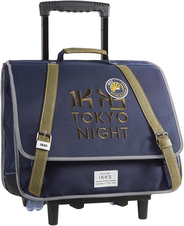 IKKS Backpacker In Tokyo Schulrucksack, 44 cm, Blau (Blau)