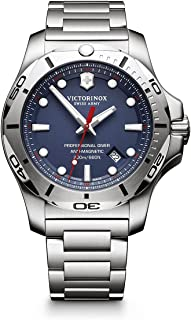 Victorinox Swiss Army Men's 'I.N.O.X.' Swiss Quartz Stainless Steel Casual Watch