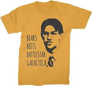 Bears Beets Battlestar Galactica T-Shirt Jim Halpert Office Shirt Dwight Schrute Tee