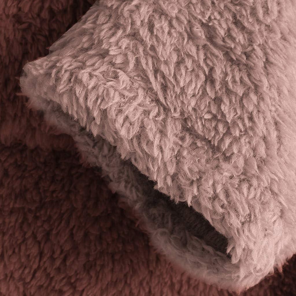 Momoxi 2020 Fleece Patchwork Plüsch Damen Jacke Knopf Plus Größen Weihnachtspullover Asymmetrischer Weihnachtsmann lose Strickjacke Bluse Für Weihnachten Winter Bis 6XL I-orange