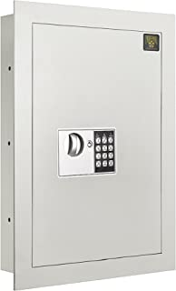 7700 Flat Electronic Wall Safe .83 CF for Large Jewelry Security-Paragon Lock & Safe