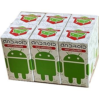 【まとめ売り】日本限定パッケージ! Android [ドロイド君] ミニコレクティブル スタンダードエディション 6個セット