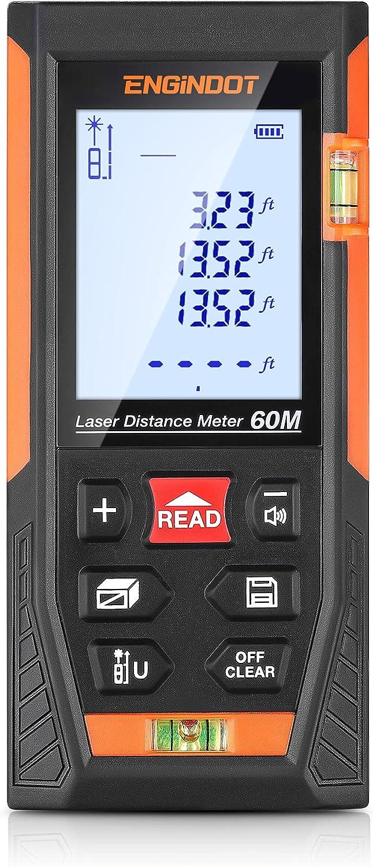 Engindot 196ft HD-60  Digital Laser Measure $19.99 Coupon