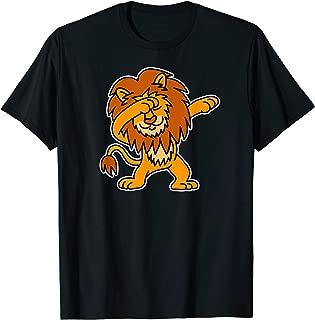 Dabbing lion funny dab dance cool lion jungle king animal