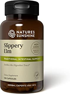 Nature's Sunshine Slippery Elm 100 Capsules