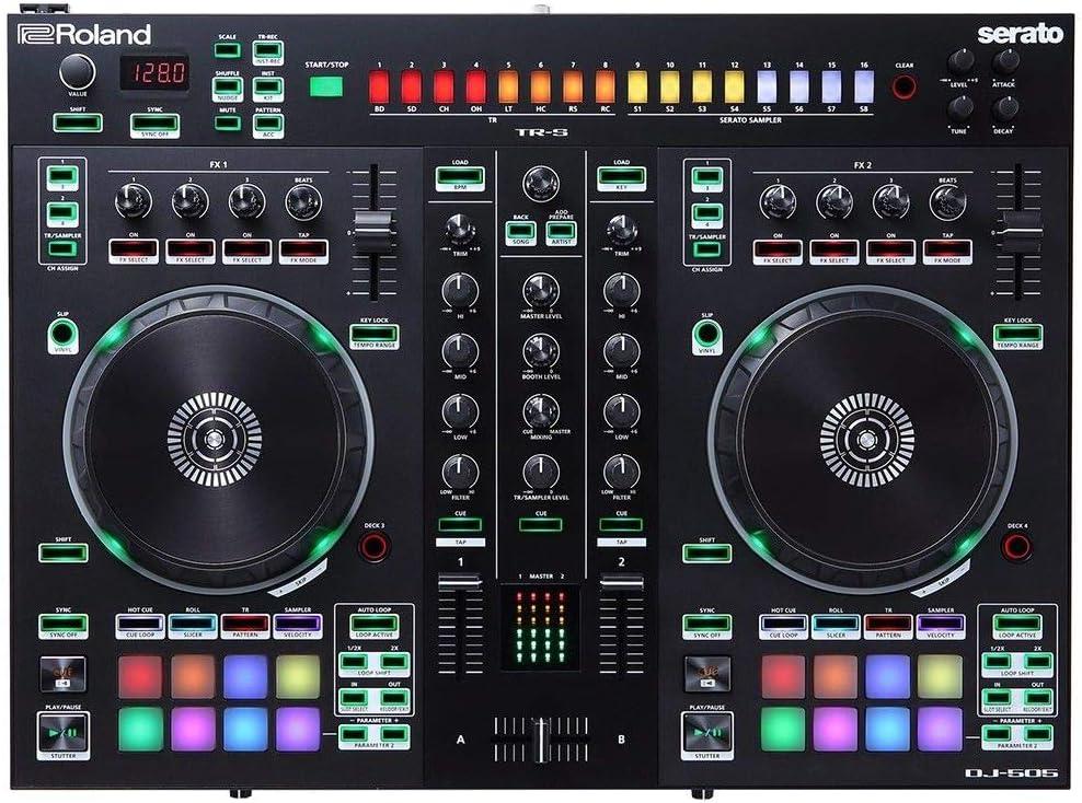 Roland DJ Controller Two-Channel Rapid rise DJ-505 trend rank Four-Deck