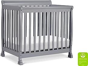 DaVinci Kalani 4-in-1 Convertible Mini Crib in Grey   Greenguard Gold Certified