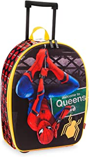 Marvel Disney Store Spider-Man Rolling Luggage Suitcase - Kids Boys