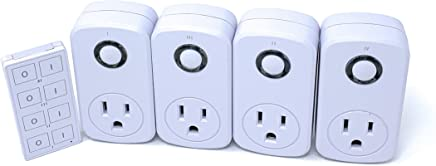 Prime 4 Indoor Remote Controlled Outlets