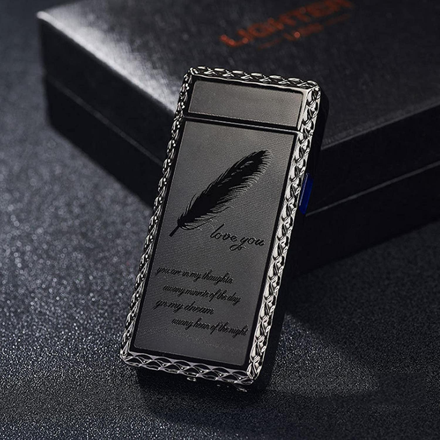 arc Lighter Fashionable Electric Zinc Alloy Cool Lighters Gadget USB Ranking TOP18