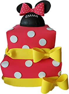 Tarta de Pañales Minnie Mouse.