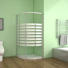 Amazon.es: mampara ducha semicircular - Mamparas de ducha / Duchas y componentes de la duch...: Bricolaje y herramientas