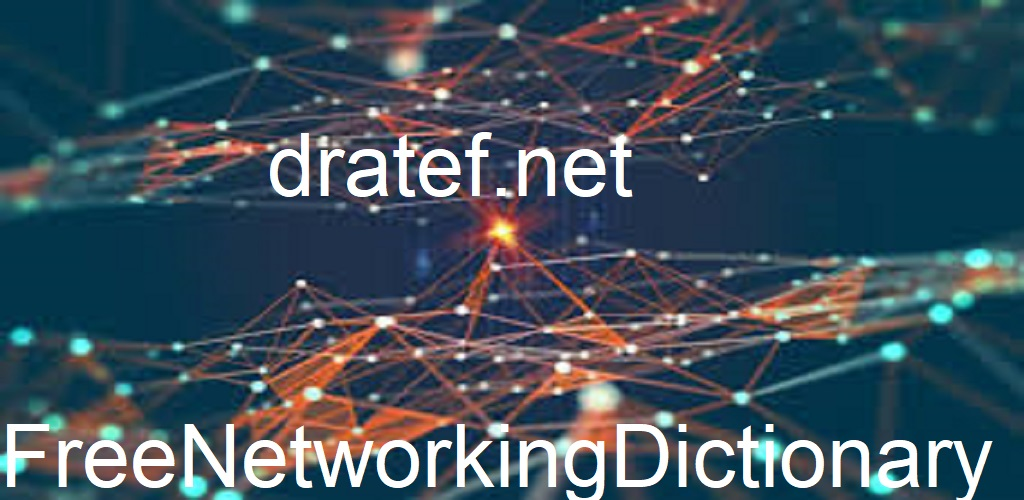 Free Networking Dictionary