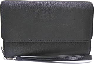 Mundi Women's Faux Leather Big Fat Wallet RFID Flap Clutch Ladies (One Size) i718x