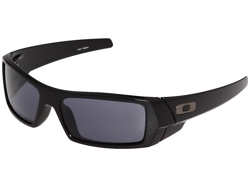 1fb87dfadee18 Oakley GasCan(r) (Polished Black Grey) Sport Sunglasses