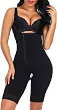 FeelinGirl Women's Open Bust Tummy Control Shapewear Thong High Waist Ladies Bodysuits