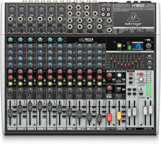 Behringer Xenyx X1832USB Premium 18-Input 3/2-Bus Mixer with USB/Audio Interface