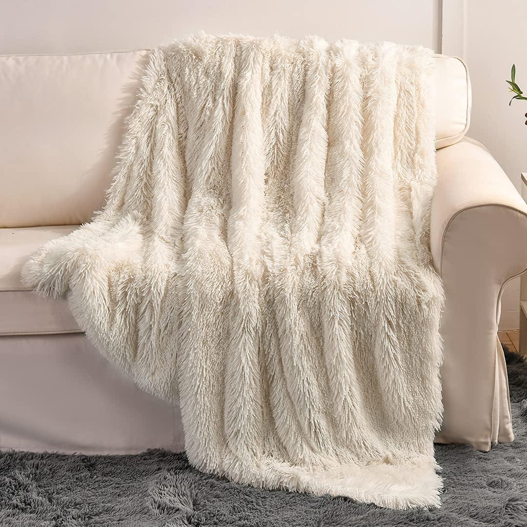 Super Soft Plush Faux Fur Blanket 50