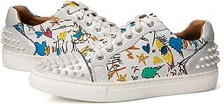 Men Fashion Sneakers Classic Walking Shoes Casual...