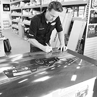 Gas Monkey Garage Built Ferrari F-40 Poster Signed by Dennis Collins from Fast n' Loud