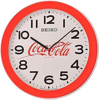 """Seiko 14"""" Coca-Cola Red Wall Clock"""