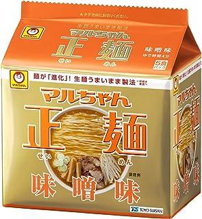 マルちゃん正麺 味噌味 5食