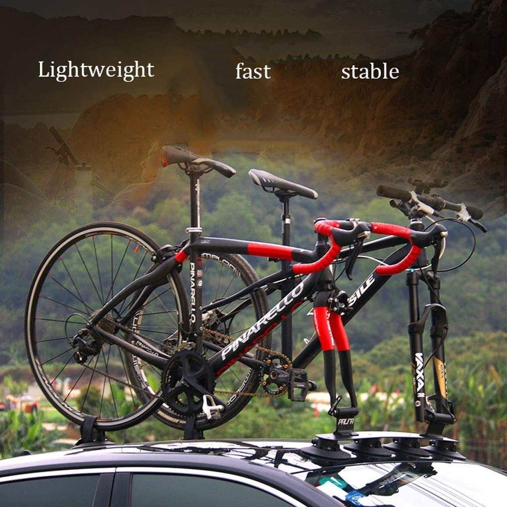 Vacuum Mount Bike Rack Sucker Flight Deck Sports Outdoors Bike Accessories Roof Racks Bike Carrier