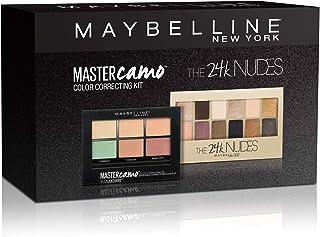 Maybelline New York Set: Golden Eyes Kit (Master Camo Correcting Palette + 24k Nudes)