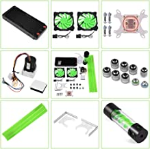 Bewinner Water Cooling Kit for PC 240mm Heat Sink CPU Water Block LED Fan Computer Cooling Kit Water Chiller Water Cooling...