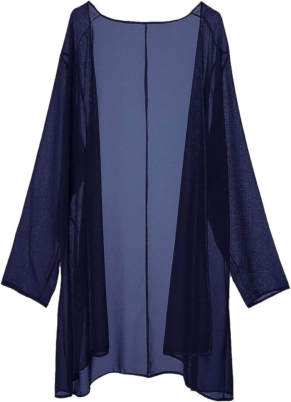 Babyonlinedress Damen Brautmutterkleider mit Jacke Chiffon Hochzeitskleid 2 Stück Ballkleid Navy Blau