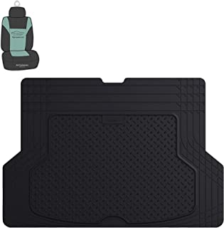 FH Group F16406 Premium Trimmable Vinyl Cargo Mat, Black Color w. Free Air Freshener-Fit Most Car, Truck, SUV, or Van