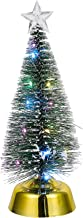 FRCOLOR Artificial Christmas Tree with LED String Lights Fake Xmas Tree Glowing Faux Holiday Pine Trees Home Holiday Chris...