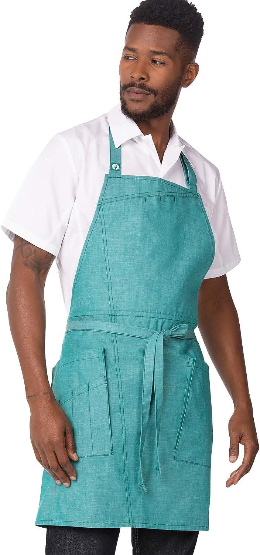 Chef Works mens Bib Raleigh Mall Medford Apron Quantity limited