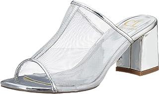 Carlton London Women's Silver Fashion Sandals