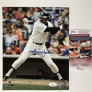 reggie jackson signed photo