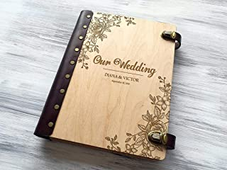 Wedding Photo Album Personalized Photo Album Custom Wedding Gift Wooden Photo Album Wedding Gift Ideas Gift