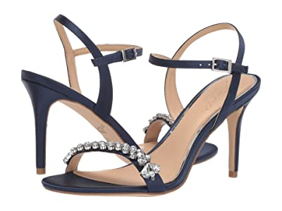 Jewel Badgley Mischka Stefanie (Navy) Women