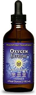 HealthForce SuperFoods Oxygen Extreme Liquid - 4 fl oz - pH Neutral Oxygen Supplement - Helps Oxygenate Blood, Supports At...
