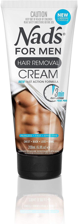 Nad's for Men Hair Removal Cream 200ml, 0.992 kilograms