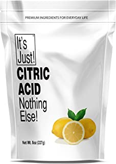 It's Just – Citric Acid (Food Grade) Non-GMO, Make Your Own, Bath Bombs, Sour..