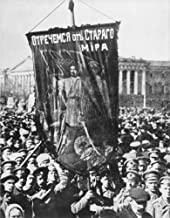 Russia Revolution Of 1917Na 1917 May Day Parade In PetrogradS Palace Square With Soldiers Hailing The Overthrow Of Tsarism With A Banner Reading Down With The Old Poster Print by (24 x 36)