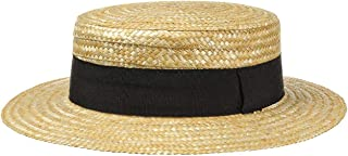 Lipodo Big Brim Traveller Straw Hat Ladies//Men Summer hat with a Wide Brim Natural Colours Hat Made of 100/% Straw Sun hat in S M L XL Made in Italy