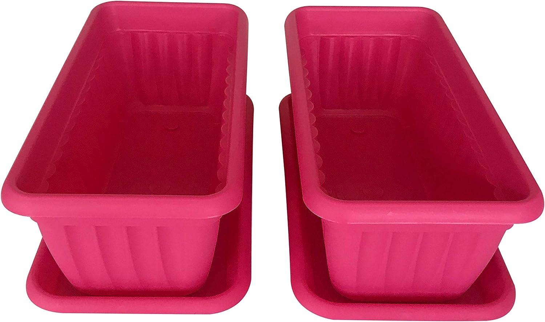 Premium High-Density Plastic NEW before selling Planter Denise Units 13.8