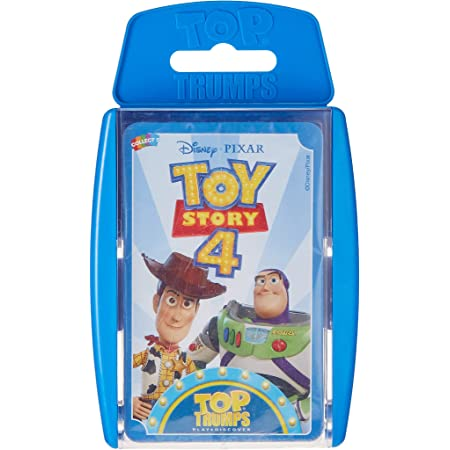 Toy Story 4 Top Trumps Card Game