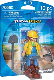 Playmobil 70560 Playmo-Friends Construction Worker, for Children Ages 4+