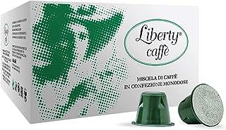 Liberty Caffè - Cápsulas compatibles con Nespresso Clásico (100 x 5,5 g)
