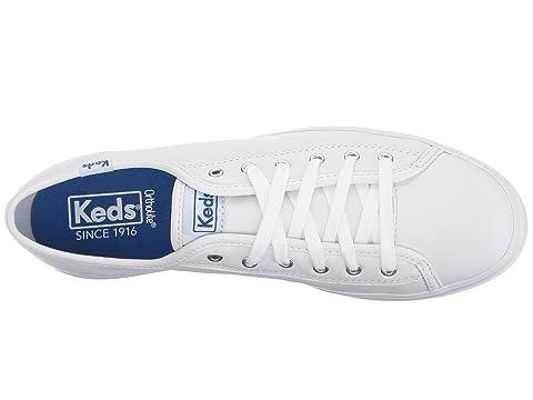 Leather Keds Keds Triple Triple Kick BlackWhite Leather BlackWhite Kick 0WHWFqU