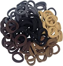 Best Thick Seamless Cotton Hair Bands, Simply Hair Ties Ponytail Holders Headband Scrunchies Hair Accessories No Crease Damage for Thick Hair (Neutral Colors) Review