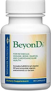 Sponsored Ad - Dr. Whitaker's BeyonD3 - Vitamin D3 Supplement 5,000 IU Plus Boron, Vitamin K2, Magnesium & Zinc - Supports...