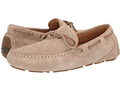 Sperry Gold Cup Harpswell 1-Eye Suede w/ ASV (Sand Dollar) Men